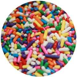 Yoogout Frozen Yogurt Rainbow Sprinkles