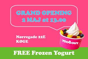 yoogout grand opening koege